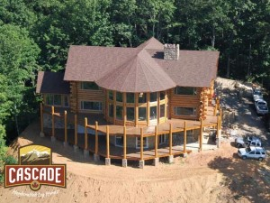 Log Home Heating Efficiency