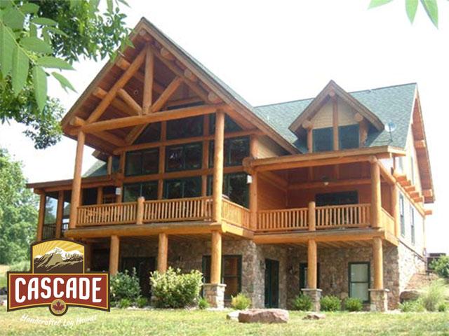cascade hand crafted cascade handcrafted log homes