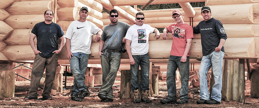 Cascade Handcrafted Skilled Log Craftsmen