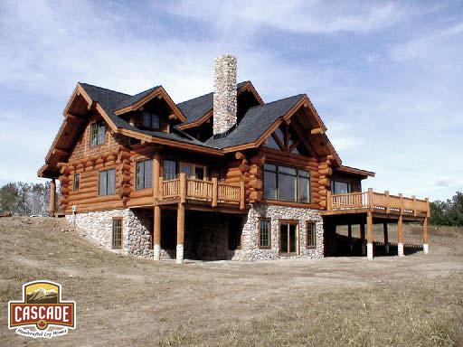 log homes cascade handcrafted log homes custom design build