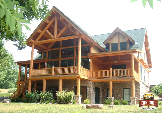 log homes cascade handcrafted log homes custom design build