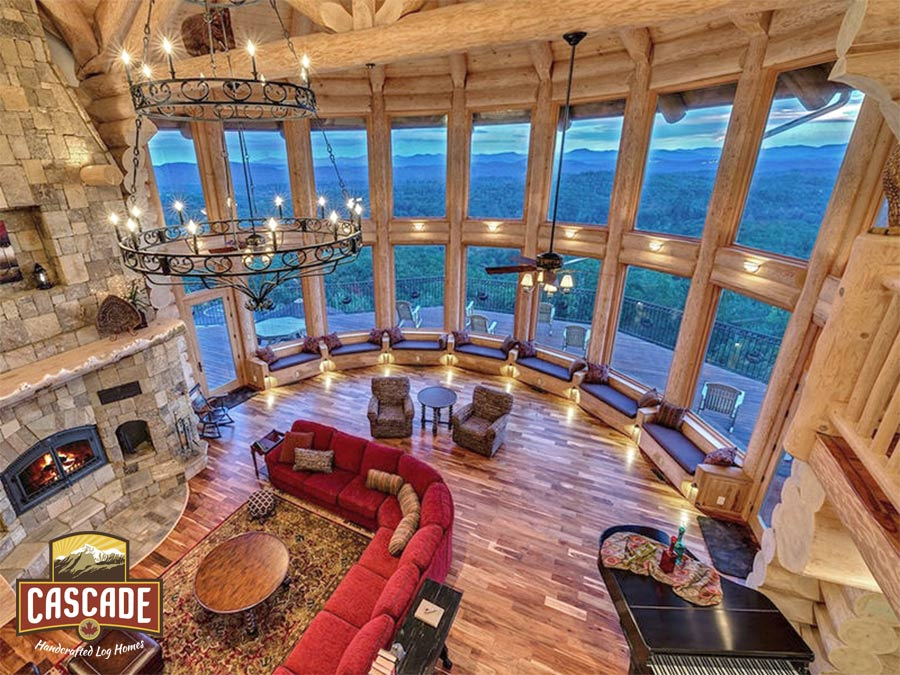 Cascade Handcrafted Log Homes - Commercial