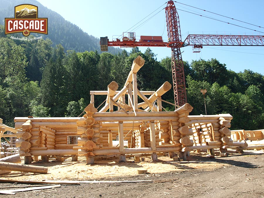 Log Shell Built Chilliwack by Cascade Handcrafted