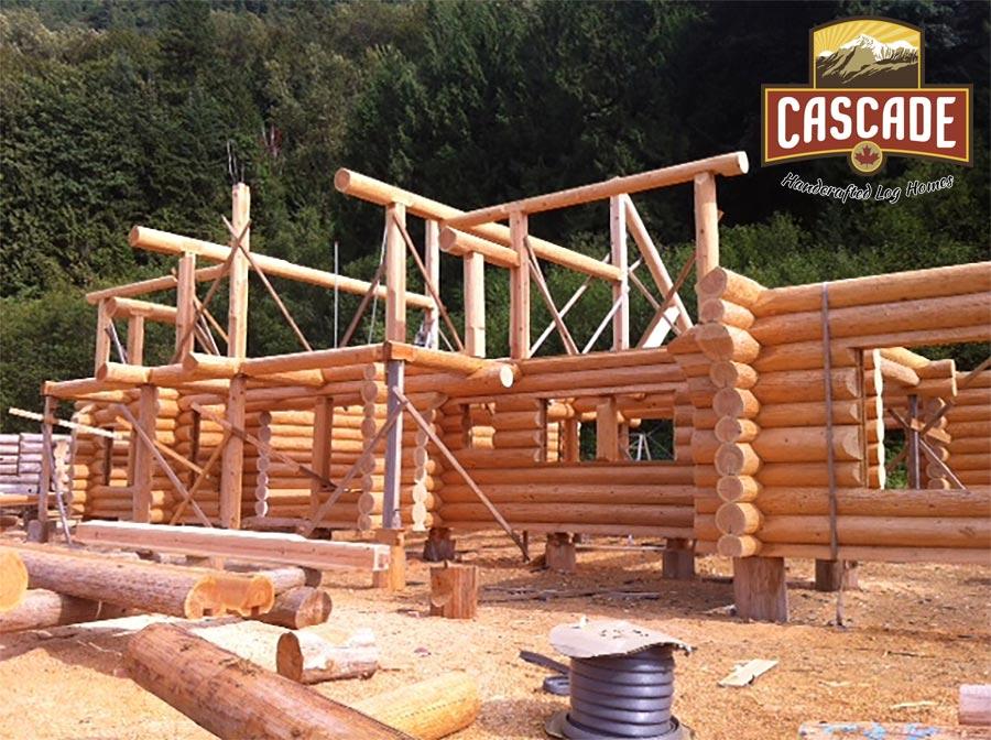 Four Bedroom Log Home Cascade Handcrafted Log Homes