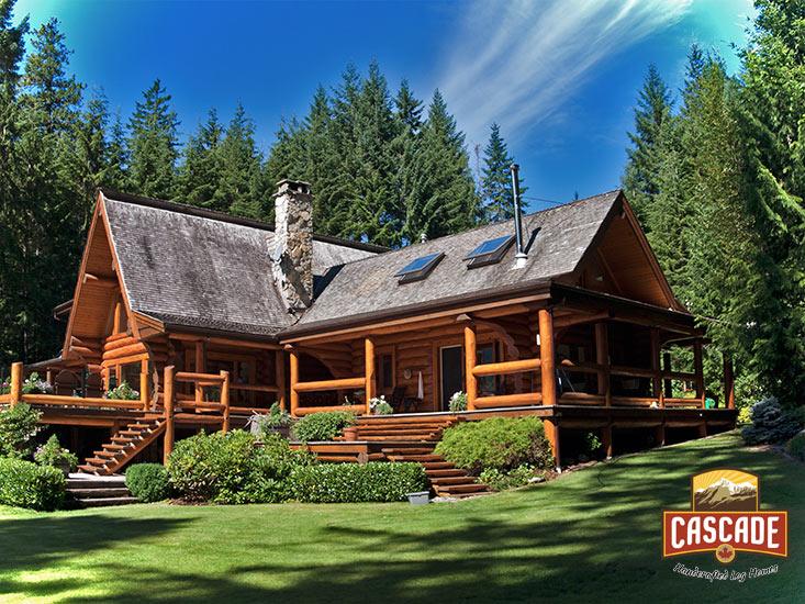 Log Homes Post And Beam Cascade Handcrafted Log Homes