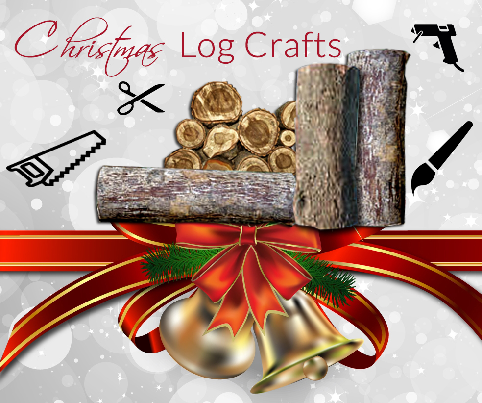 christmas log craft ideas