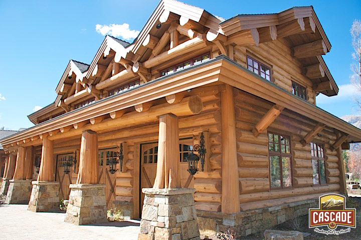Latewood Finish Cascade Handcrafted Log Homes