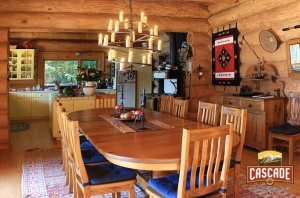 Log-Home-Kitchen-Dining-Room-Lake-House
