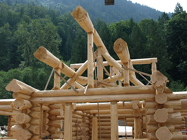 The Technique In Building A Full Scribe Log Home Is Also Known As Traditional Scandinavian Method Because Of Where It Originated From