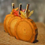halloween wood apples