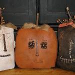 halloween sacks