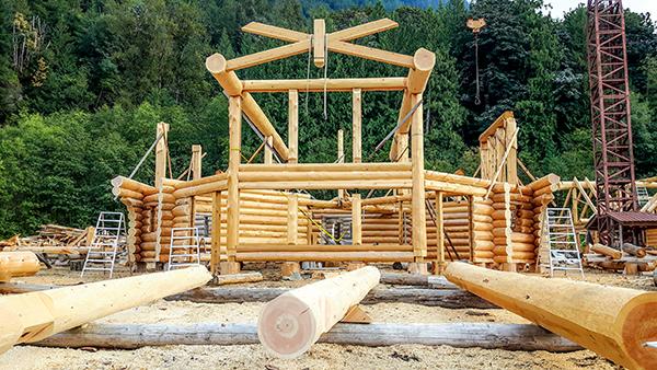 log home energy efficiency