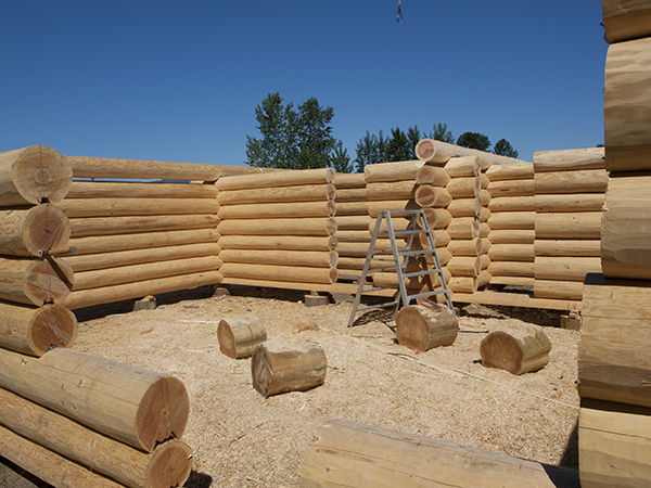 Full Scribe Log Home