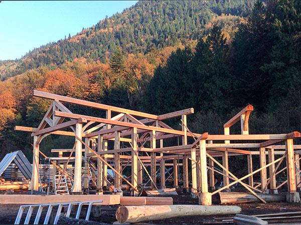 Timber Frame Log Homes