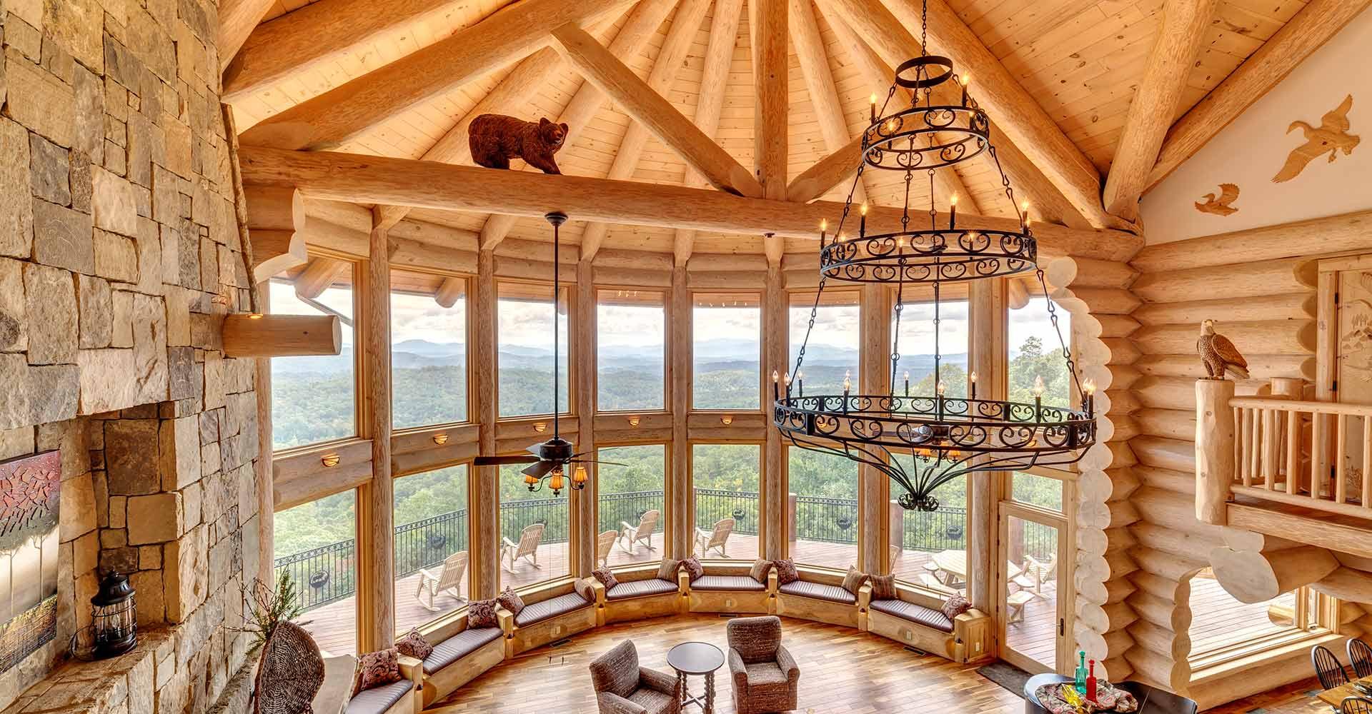 Log Homes Cascade Handcrafted Log Homes Custom Design