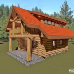 Cascade Handcrafted Log Homes - 833 The Riverside log cabin
