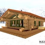 Cascade Handcrafted Log Homes -Tyrol log Cabin