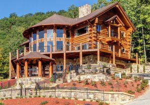 Georgia - Cascade Handcrafted Log Home Design