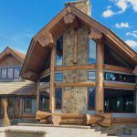 Kansas – Cascade Handcrafted Log Home Design