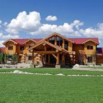 Wyoming – Cascade Handcrafted Log Home Design