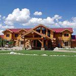 Wyoming – Cascade Handcrafted Log Home Design