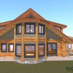 Shuswap Custom Log Home